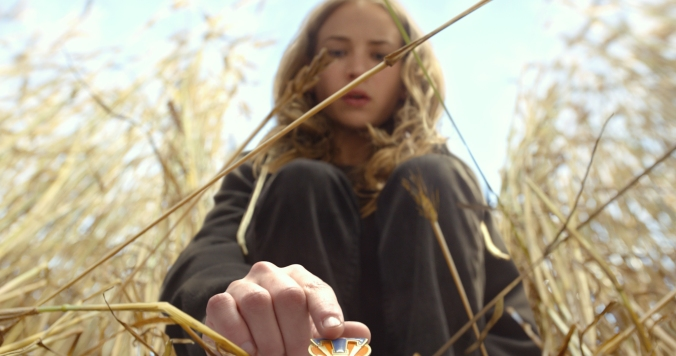 Disney's TOMORROWLAND..Casey (Britt Robertson)..Ph: Film Frame..©Disney 2015