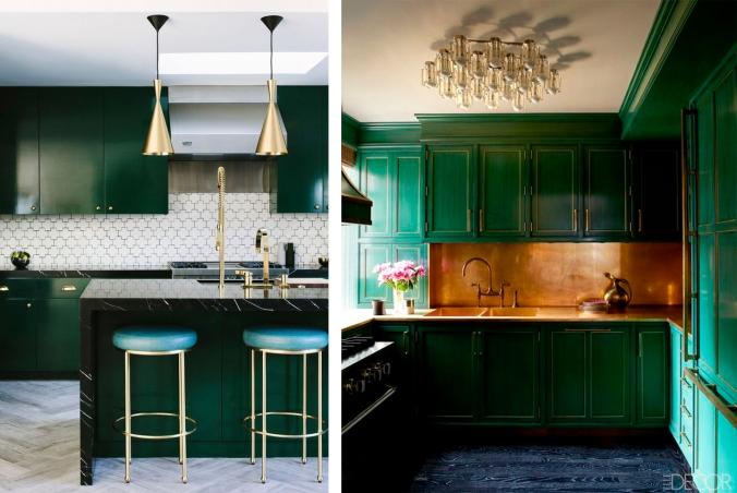 cozinha verde decoração 1