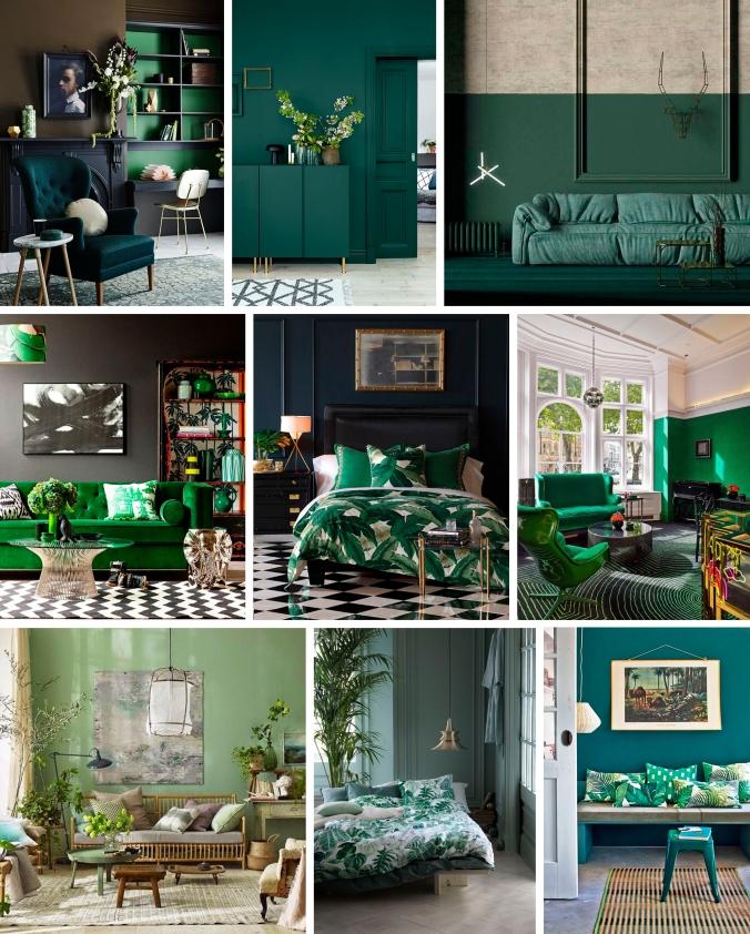 verde decoração